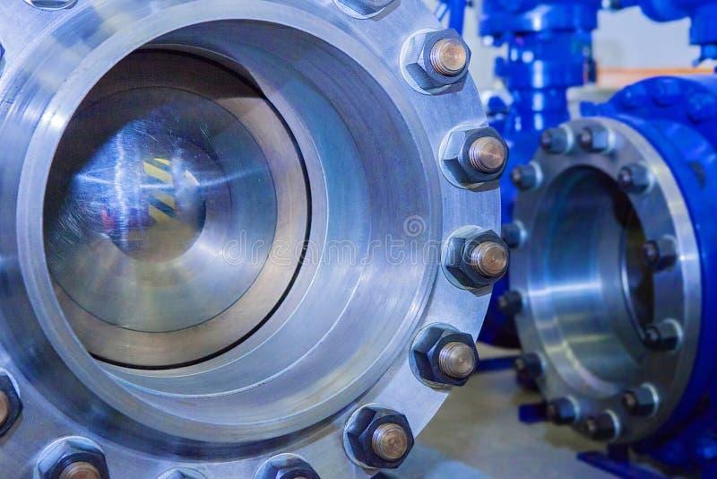 Przemysłowych dużych wymiarów balowe klapy zdjęcie stock