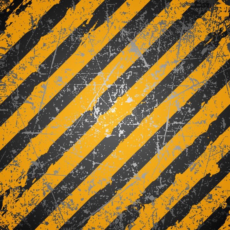 Przemysłu ostrzegawczy tło royalty ilustracja