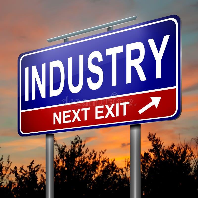 Przemysłu pojęcie. royalty ilustracja