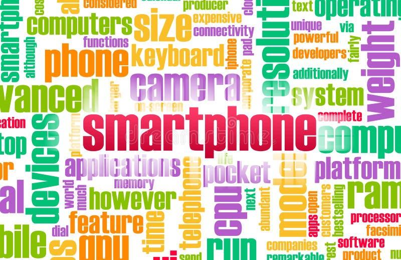 przemysłu smartphone ilustracji