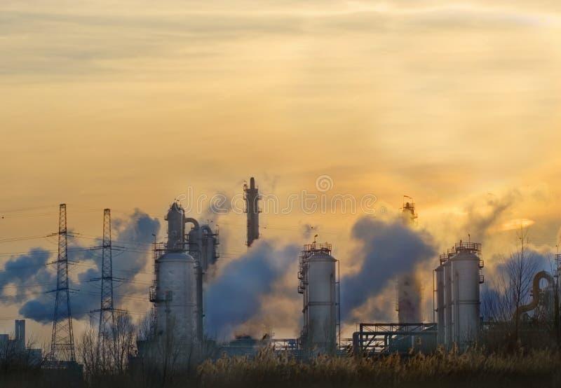 przemysłu smokey zdjęcie royalty free