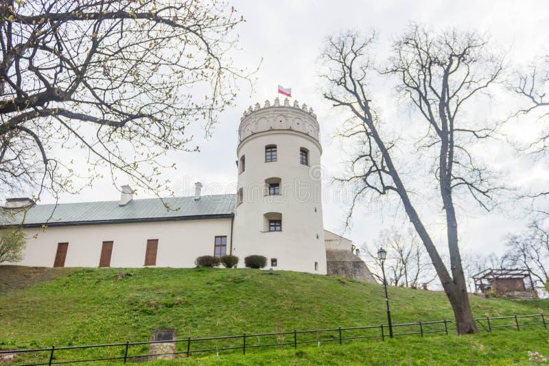 Przemyski, Polska, - Kwiecień 13, 2019 Przemyski kasztel lub Casimir kasztel, XIV wiek jesteśmy renaissance kasztelem w Przemyski zdjęcie royalty free