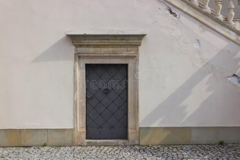 Przemysl, Polonia, - 14 de abril de 2019 Polaco del castillo de Krasiczyn: Zamek w Krasiczynie es una estructura del renacimiento foto de archivo libre de regalías