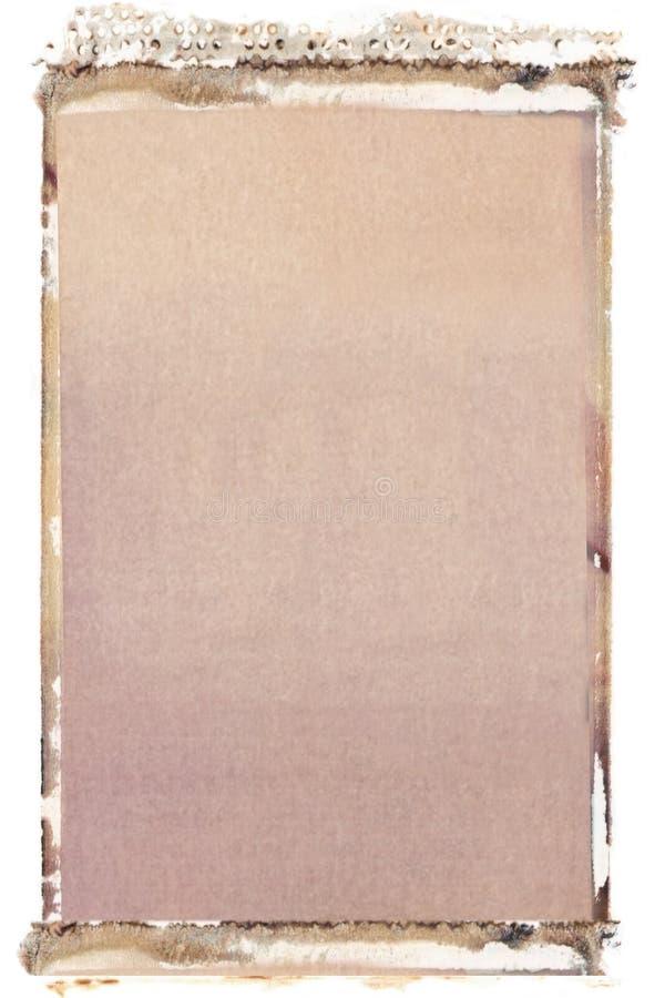przeniesienie polaroidu 35 mm zdjęcia stock
