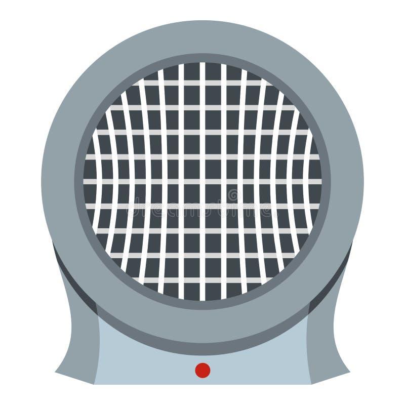 Przenośna elektrycznego nagrzewacza ikona odizolowywająca ilustracja wektor