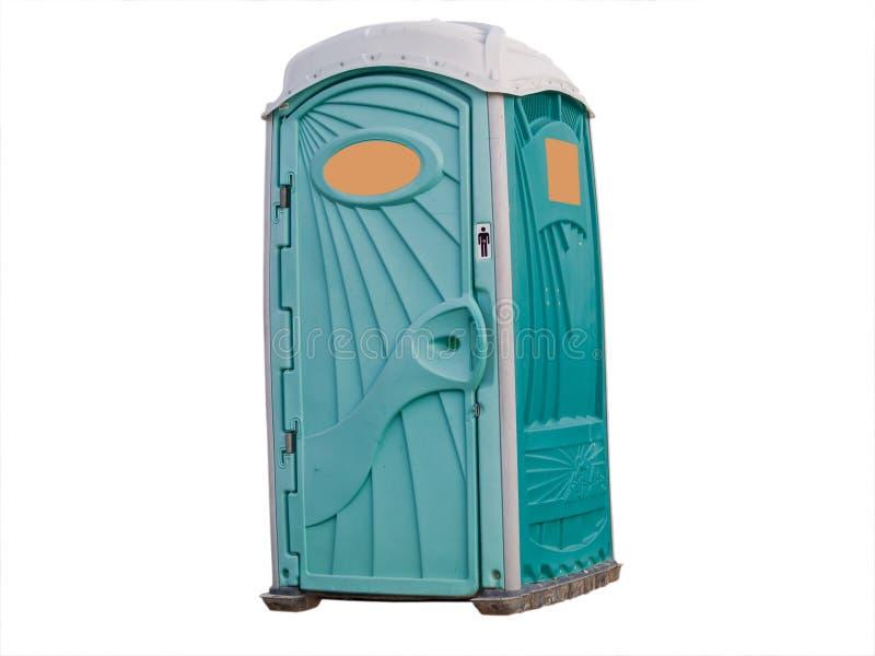 przenośna toaleta zdjęcie stock