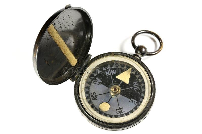Przenośny kompas zdjęcie stock