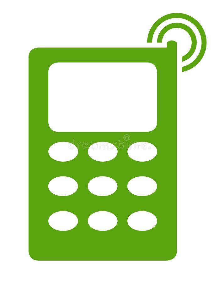 Przenośny telefon ilustracji