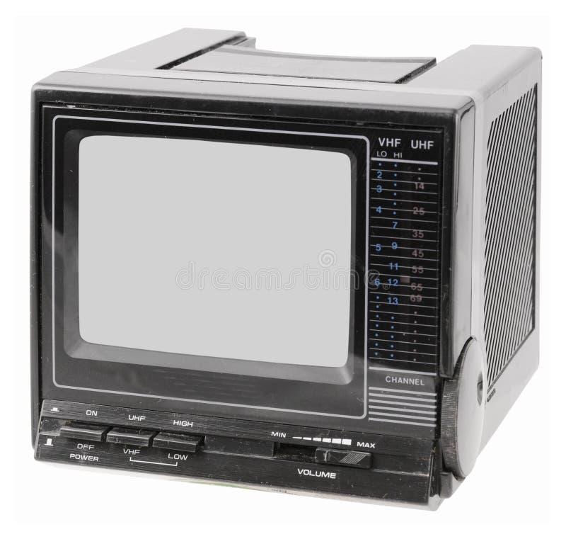 przenośny telewizor roczne zdjęcia royalty free