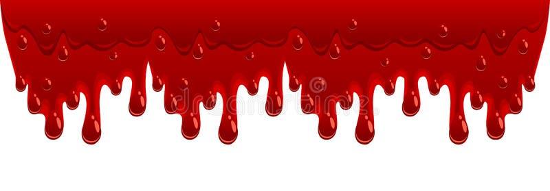 Przepływ krwi royalty ilustracja