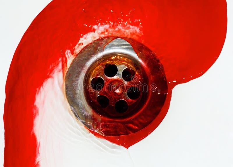przepływ krwi fotografia stock