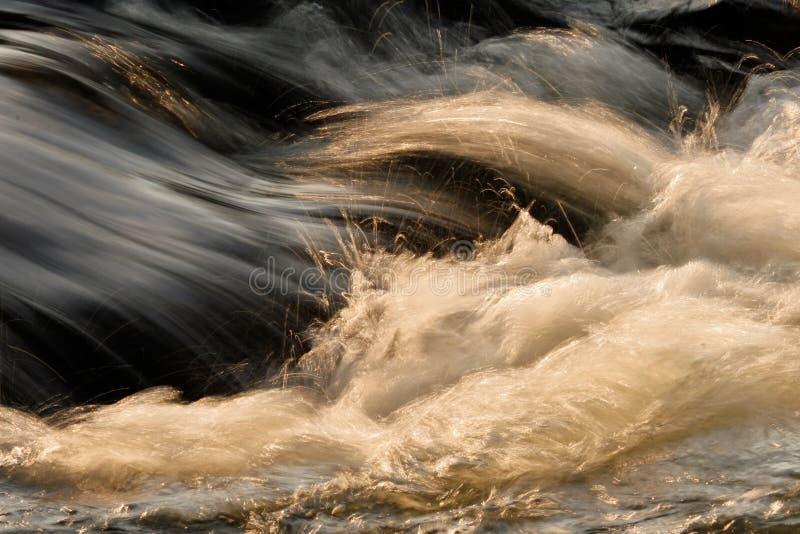 przepływ wody zdjęcie royalty free
