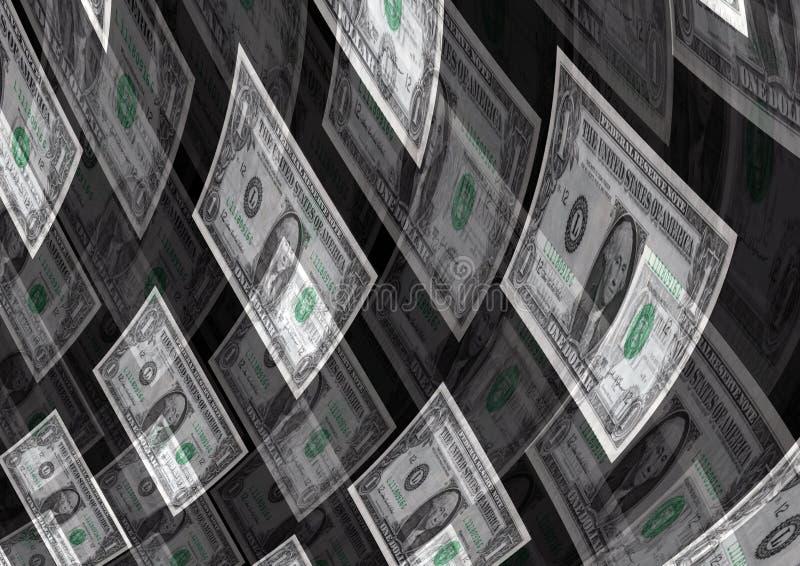 Przepływu Gotówki tworzenia bogactwa zysku tło zdjęcie royalty free