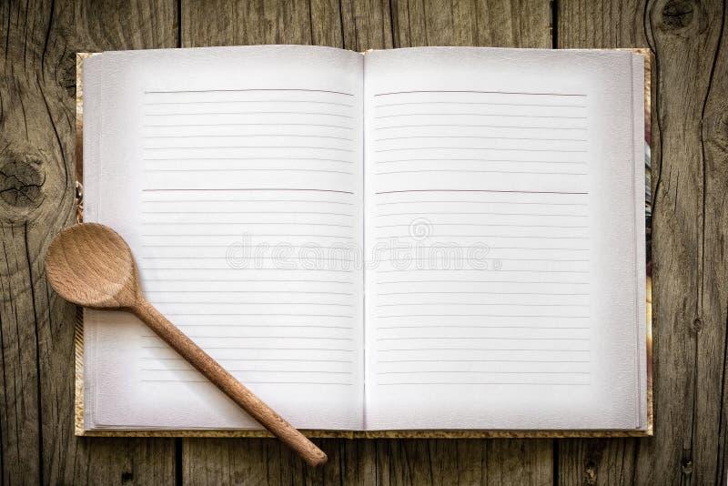 Przepis książka zdjęcia stock