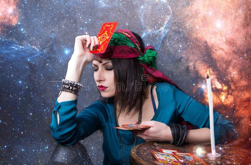 Przepowiadać przyszłość, dostęp astralny zdjęcie royalty free