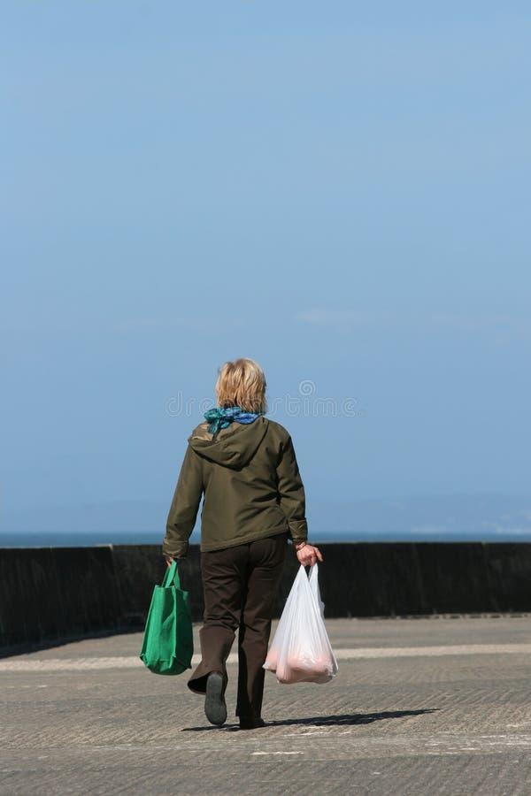 przeprowadzenie na zakupy. fotografia stock