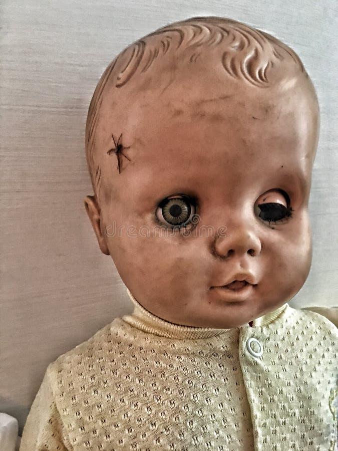 przerażająca lala zdjęcie stock