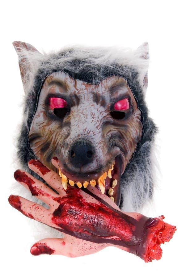 przerażająca zabawa Halloween. zdjęcie stock
