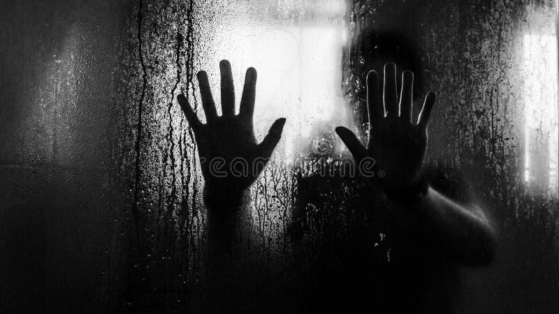 Przerażające ręki obrazy stock