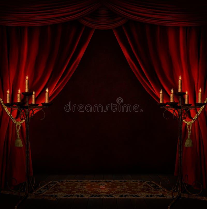 Przerażający pokój zdjęcia stock