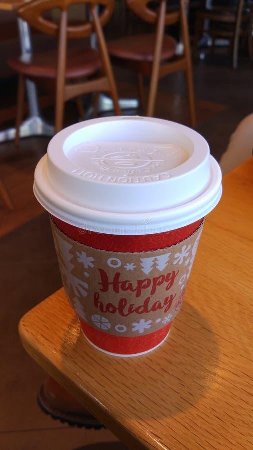 Przerwa czas z kawą obraz royalty free