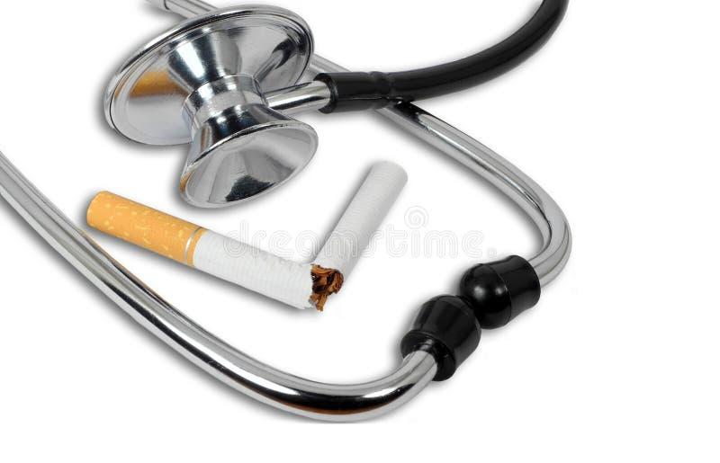 Przerwa dymi pojęcie obraz stock