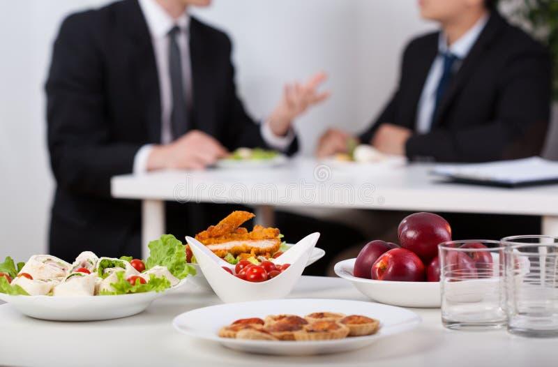 Przerwa na lunch zdjęcie royalty free