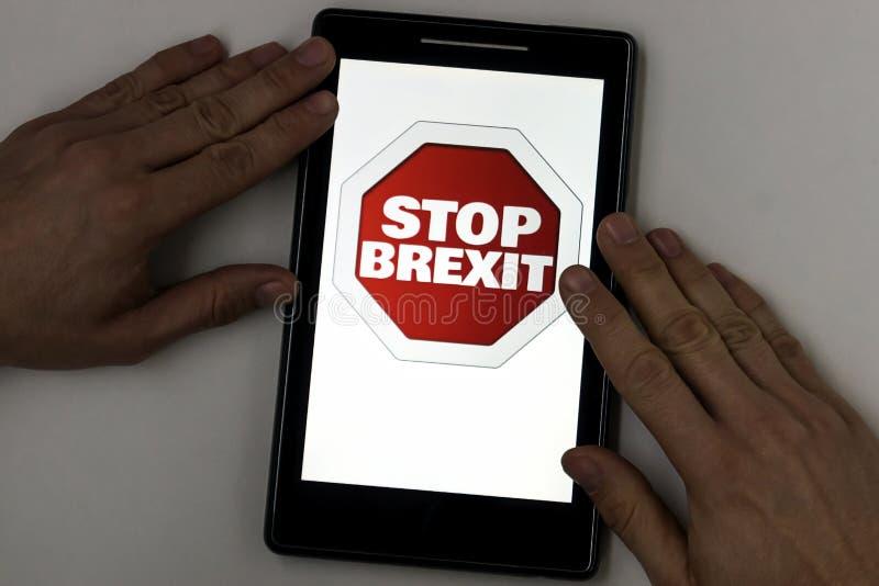 Przerwy brexit obrazy royalty free