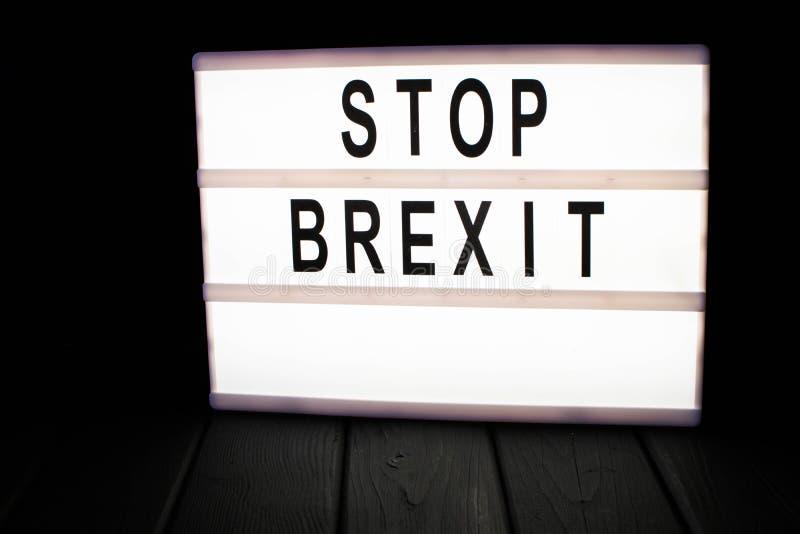 Przerwy brexit zdjęcia royalty free
