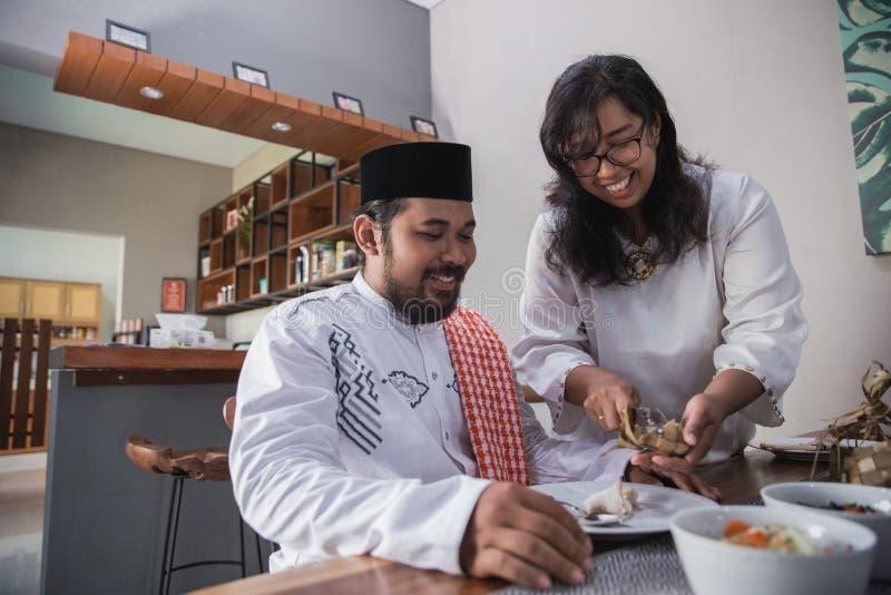 Przerwy zamocowanie na Ramadan zdjęcia royalty free