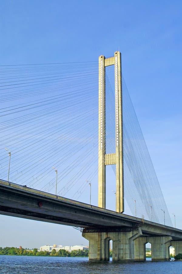 przerzuca most kyiv południe Ukraine fotografia royalty free