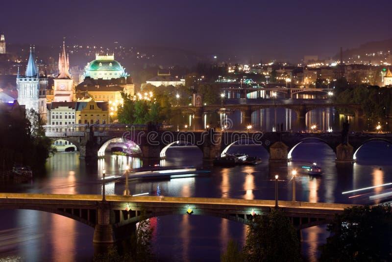 przerzuca most Prague fotografia stock