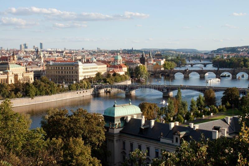 przerzuca most Prague s fotografia royalty free