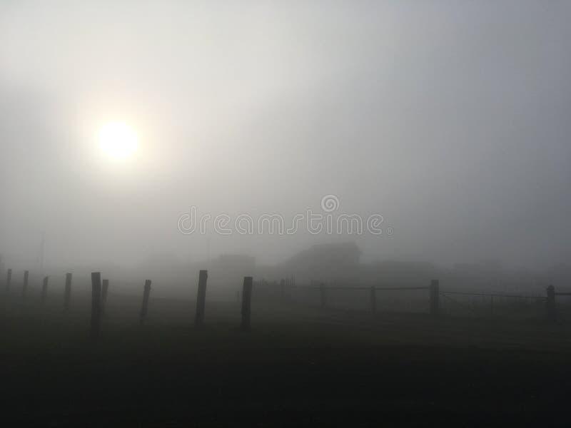 Przesłona mgła obraz stock