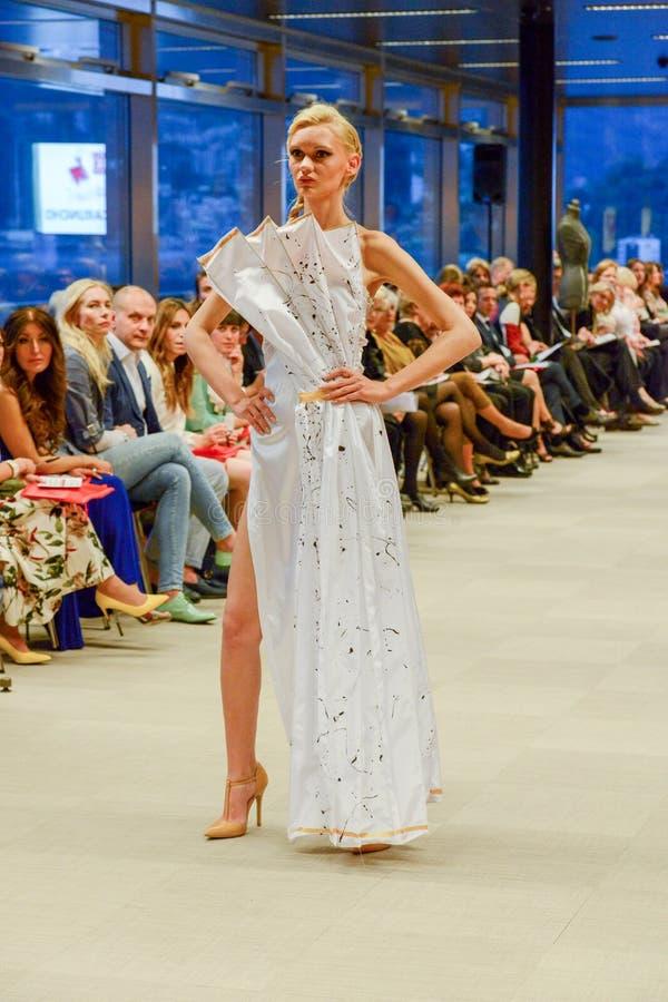 Przesmyk na pokazie modym przy Lugano na Szwajcaria obrazy stock