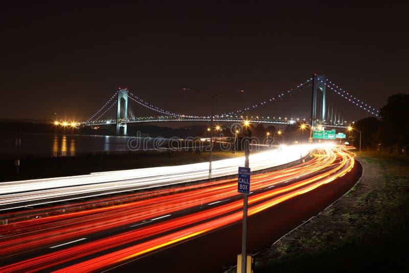 przesmyki Przerzucają most Nowy Jork zdjęcia royalty free