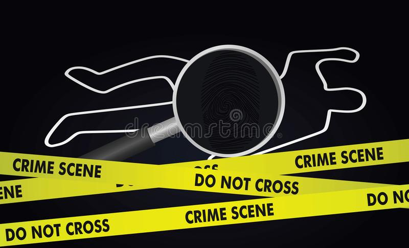 Przestępstwa dochodzenia pojęcie ilustracji