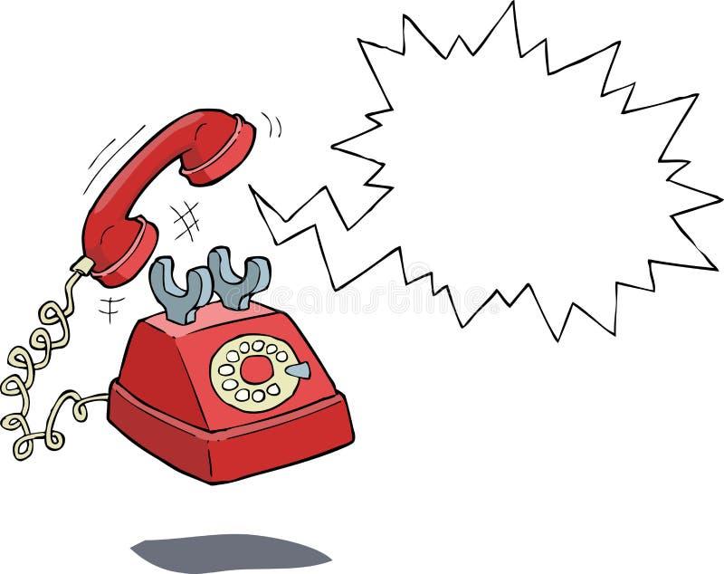 przestań nazywać kawowego telefonu trudne dni biuro czasu pracy ilustracja wektor