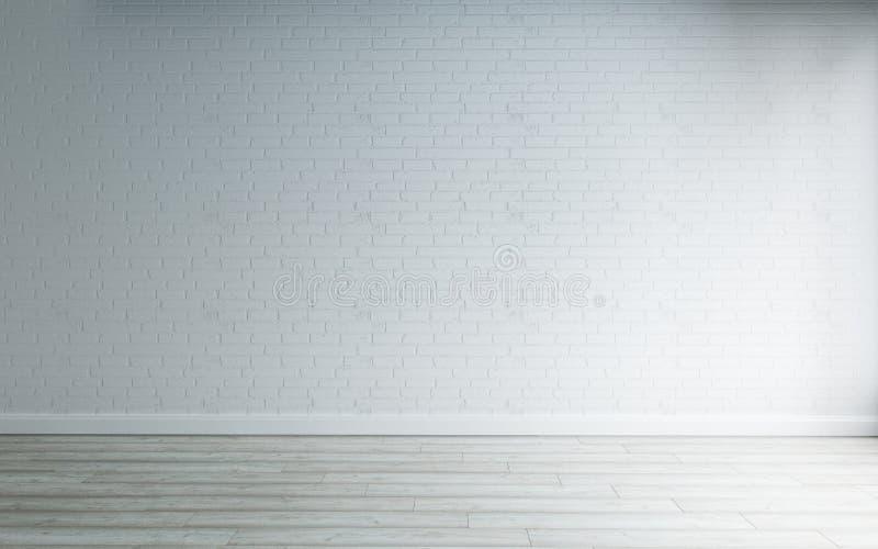 Przestrzeń pusty pokój, wnętrze Nowożytny styl royalty ilustracja