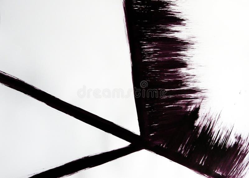 Przestrzeń wypełnia z trzy przecina liniami i szerokim paskiem zdjęcie stock