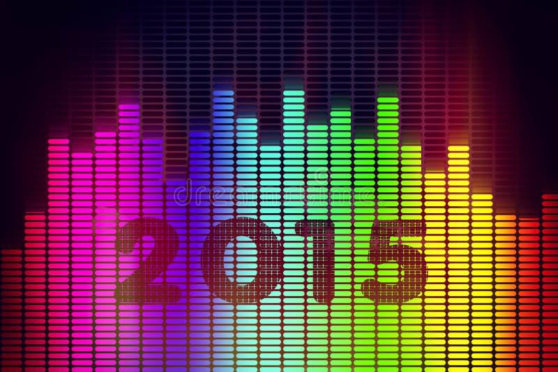 przeszłość nowego roku ilustracji
