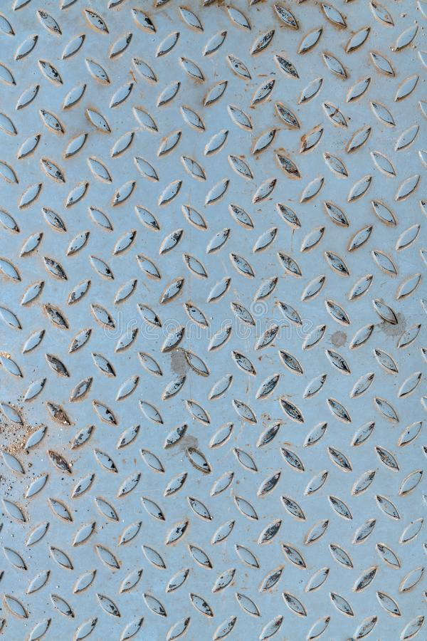 Przetarta kruszcowa anta uślizg powierzchnia obraz stock