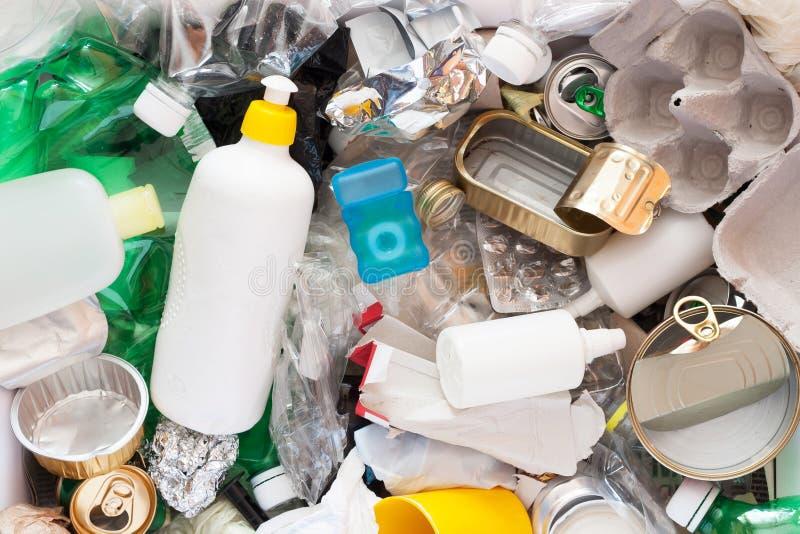 Przetwarzać śmieci zdjęcia stock