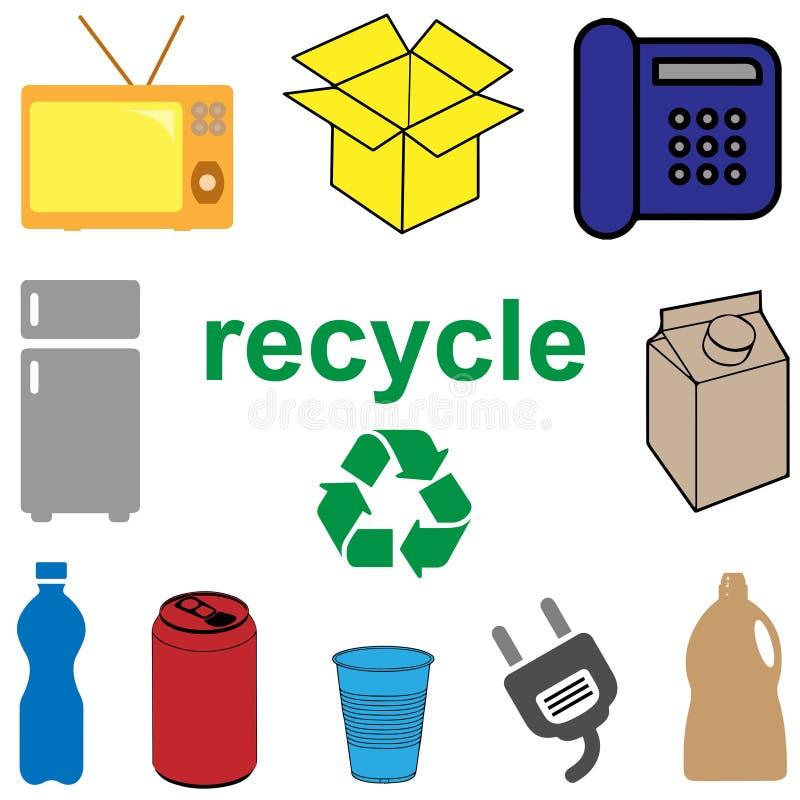 Download Przetwarza Pojęcie Dla Gospodarstwa Domowego I Elektronicznego Odpady Ilustracja Wektor - Ilustracja złożonej z dyferencja, greenbacks: 106911450