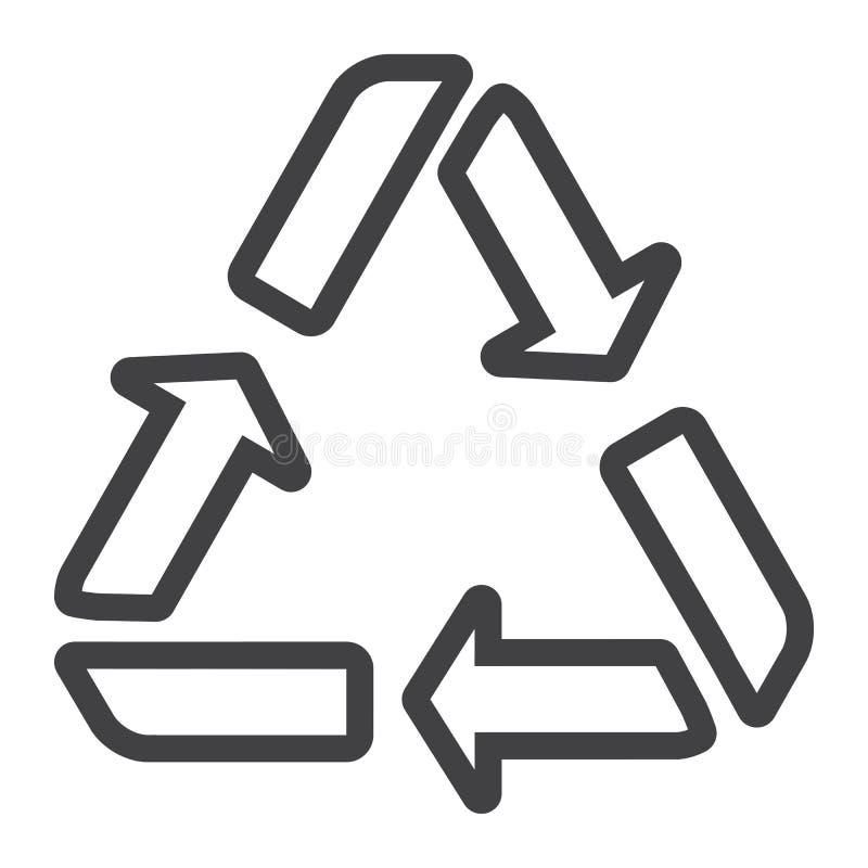 Przetwarza symbol kreskową ikonę, eco i dostawę, ilustracji