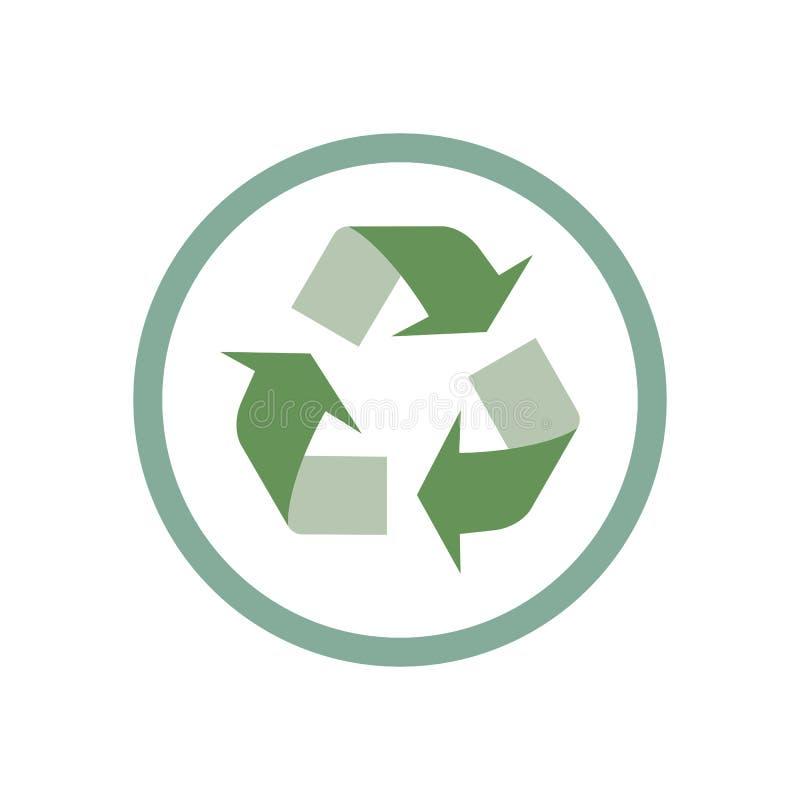 Przetwarza wektorową ikonę Styl jest płaskim symbolem, zaokrąglający kąty, biały tło Wektorowa ilustracja, płaski projekt ilustracji