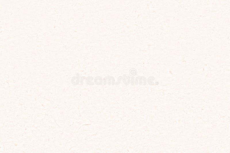 Przetwarzająca białej księgi tekstura Lekki rzemiosło papier zamknięty w górę tła zdjęcie stock