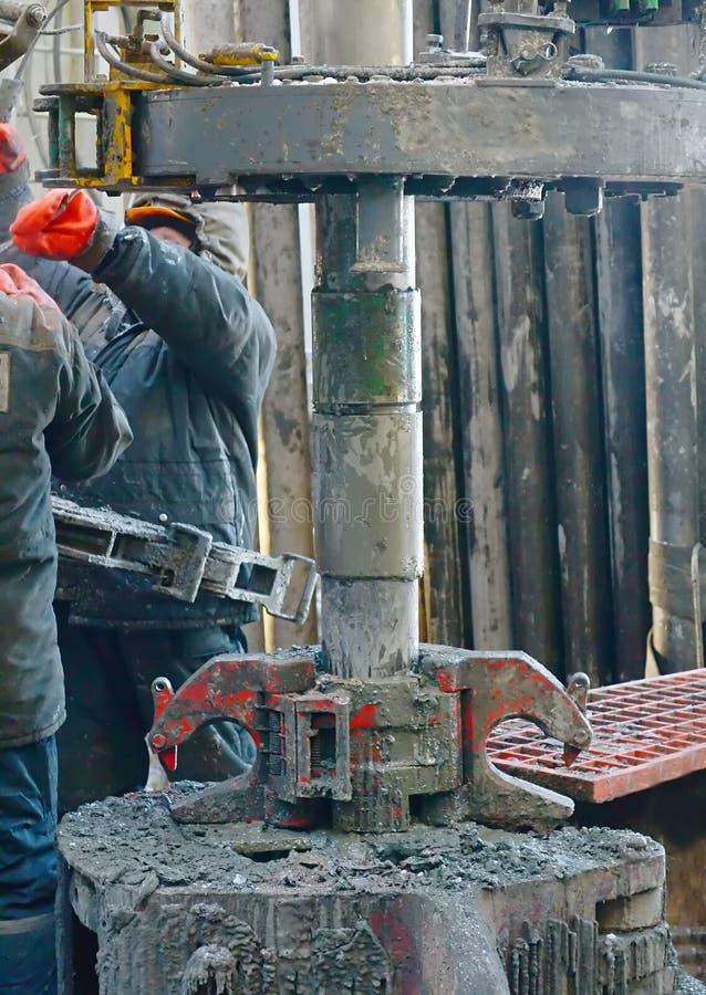 Przetwarzające paliwa drymba dla produkci ropy naftowej obraz stock