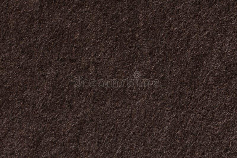 Przetwarzający ciemny brown papieru tło obraz royalty free