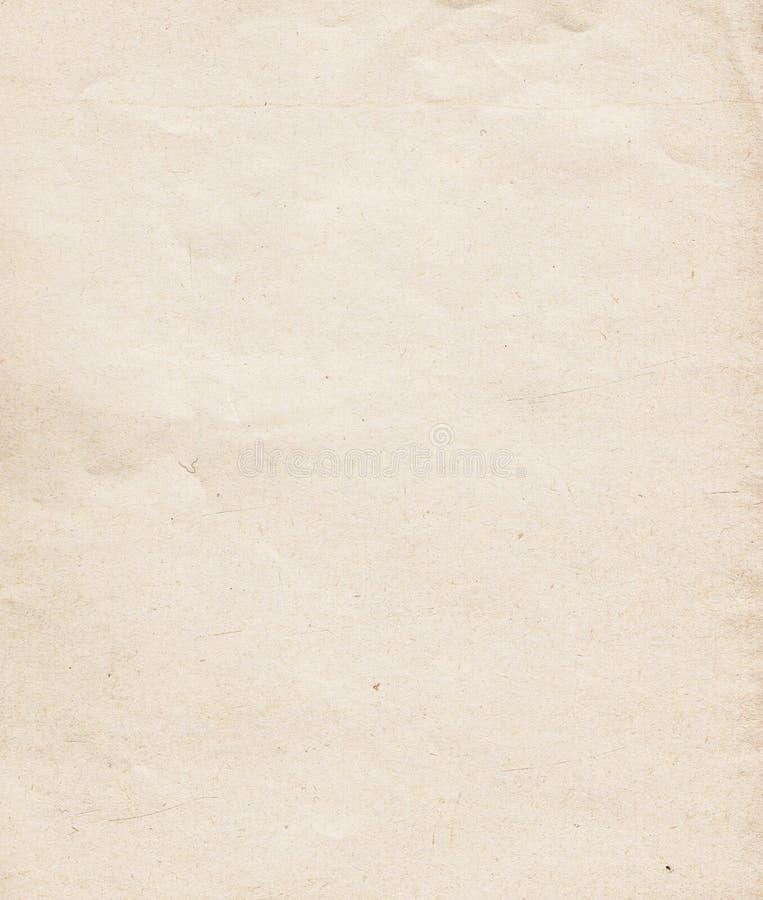 Przetwarzający naturalny papier zdjęcia stock